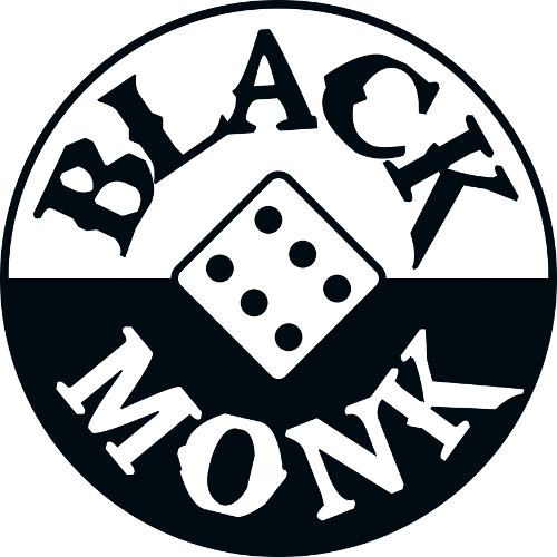 Logo firmy Black Monk Games